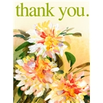 Thank You Art eGift Card - Painted Flowers