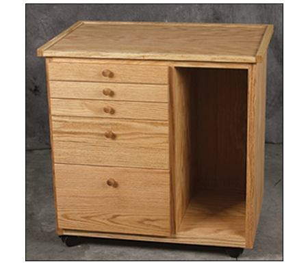 BEST Studio Taborets 5 Drawer/Cubby