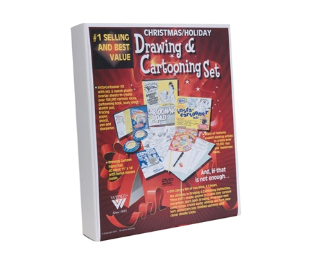Bruce Blitz Drawing and Cartooning Holiday Kit