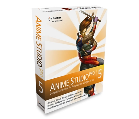 Anime Studio Pro 5 Software (Anime Studio Pro 5 Software (