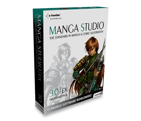 Manga Studio 3.0 EX Software