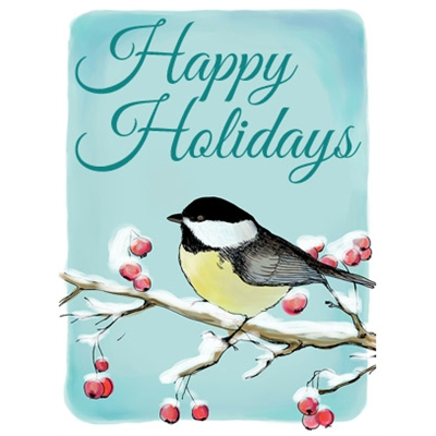 Holiday Art eGift Card - Bird on Branches