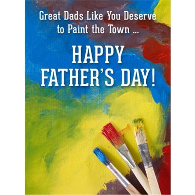 Father's Day Art eGift Card - Paint the Town