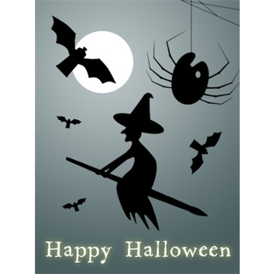 Halloween Art eGift Card - Silhouettes - electronic gift card