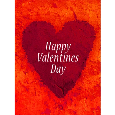 Valentine's Day Art eGift Card - Collage Heart - electronic gift card