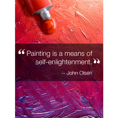 Inspirational Quote Art eGift Card - John Olsen