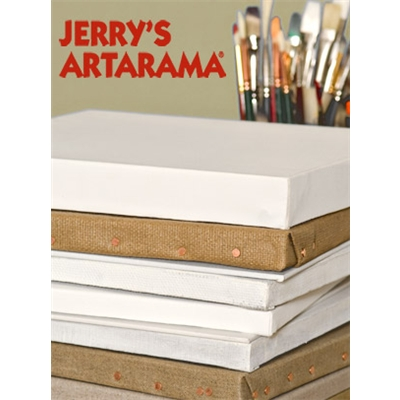 Jerry's Art eGift Card - Stack of Canvas