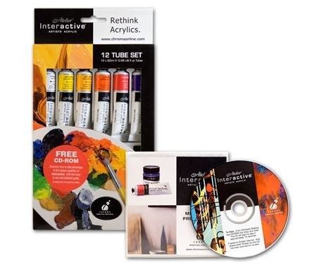 This introductory set includes 12 tubes and also a FREE CD-Rom!