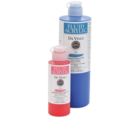 This color range is an exciting fusion between Da Vinci\'s watercolor hues and colors traditionally found in acrylics.