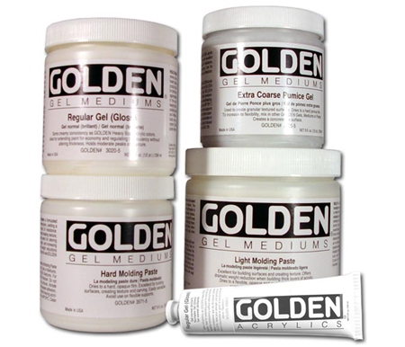 GOLDEN Gel Mediums