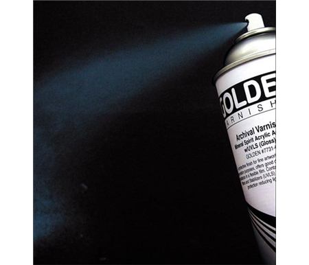 This Archival Varnish Spray is excellent for ink jet prints and paintings!
