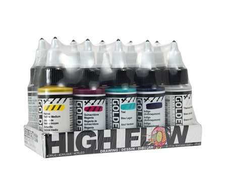 GOLDEN High Flow Acrylic Sets