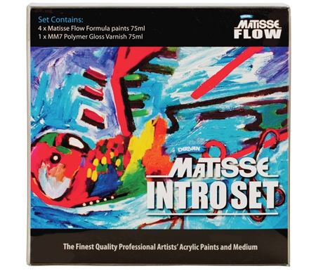 Matisse Flow Acrylic Intro Set of 5