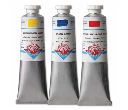 Old Holland New Masters Classic Acrylics - 60 ml Tubes