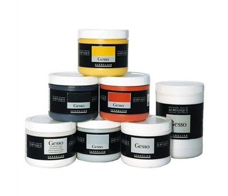 Sennelier Gesso is the perfect compliment to Sennelier Acrylique Artist Acrylic!