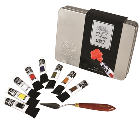 This Winsor & Newton Pro Tin set is packed full of some of the best art supplies on the market!