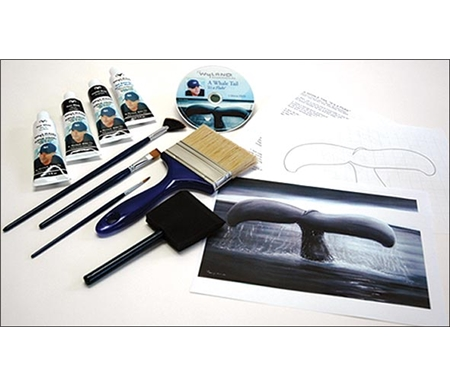 With this kit, you\'ll be painting a marine wonderland in no time!
