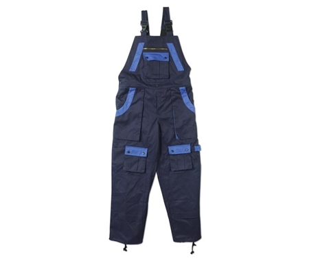 Bib style overalls available in two classic colors