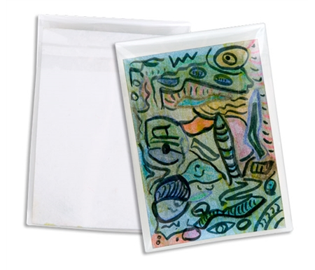 Clear Art & Photo Bags for Your Artist Trading Cards!