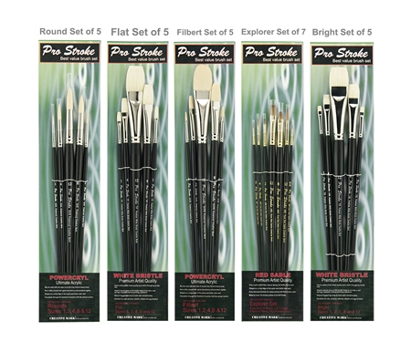 ProStroke Oil Color Brush Value Set