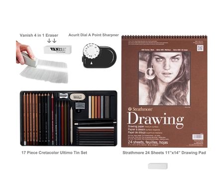 Cretacolor Ultimo Drawing Art Value Set
