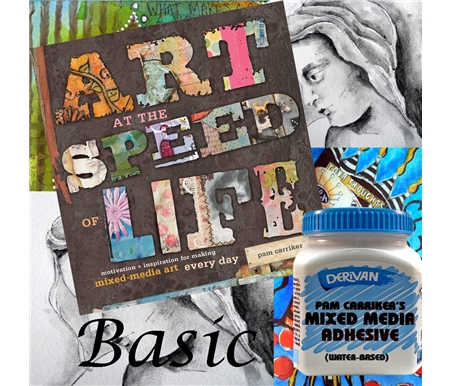 Art at the Speed of Life: Motivation and Inspiration and Pam Carriker\'s Mixed Media Adhesive by Derivan