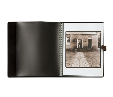 This presentation book opens completely flat for ideal viewing of your digital images!