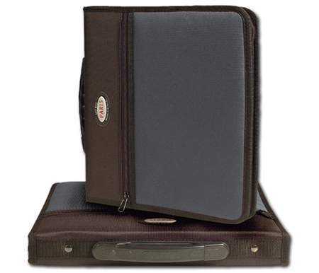 Each case features an exterior zippered pocket and premium handle.