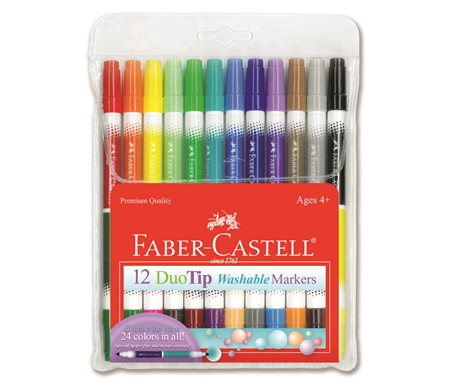 Faber-Castell Childrens\' Duo-Tip Markers