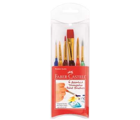 Faber-Castell Triangular Brushes
