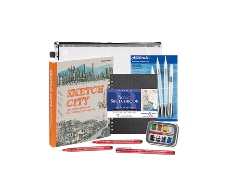 Sketch City Book Gift Set