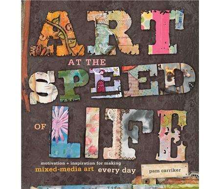 Learn how create mixed-media art-- even with a busy lifestyle!