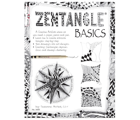 Zentangle Basics introduces you to the hottest trend in decorative doodling.