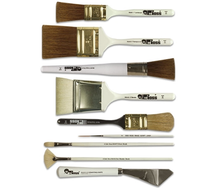 Bob Ross Oil Painting Brushes