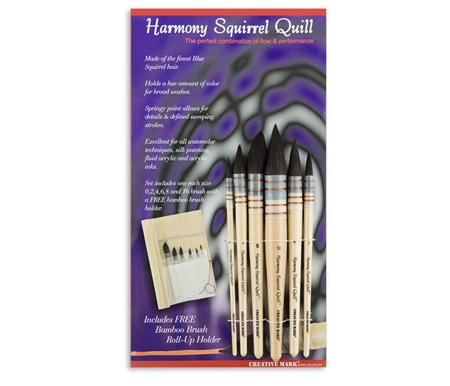 Squirrel Quill Set of 6