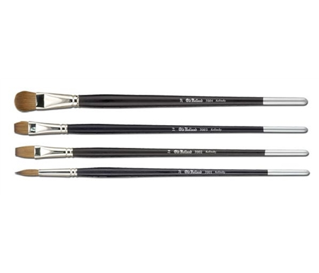 All brushes are made with beautiful Kolinsky Sable.