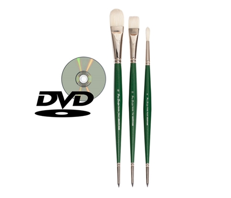 Pro Swipe Bristle Brush Set with DVD