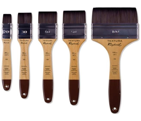 Raphaël Textura Heavy Body Acrylic Brushes