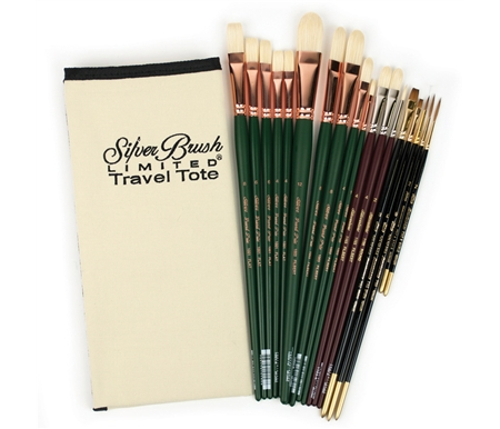 Silver Brush Professional Artist Deluxe Brush Sets