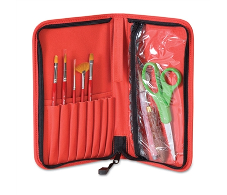 This wonderful set comes in a sturdy deluxe case! (Other supplies not included.)