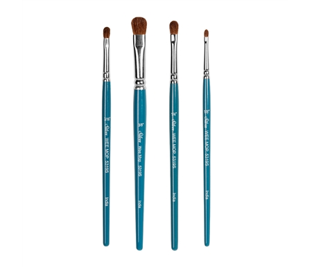 Silver Brush Wee Mop Set of 4 Brushes