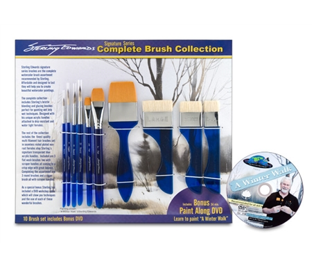 Sterling Edwards Signature Series Brush Set