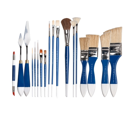 The complete range of Wilson Bickford Signature Series Brushes and Tools.