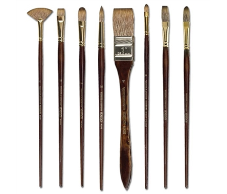 These brushes are made with the highest quality blend of polyester filaments to provide ideal flexibility.