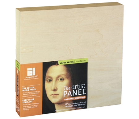The new Unprimed Basswood Panel is among the most versatile and affordable painting substrates available.