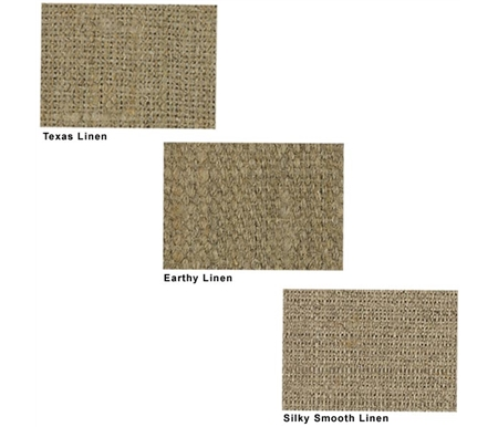 Polish Linen Roll Canvas comes in three wonderful textures.