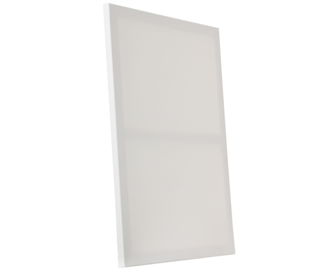 Stretched cotton canvas, Acid free acrylic primer, Slim profile, back-stapled, Sold 20 canvases to a box. Perfect for A low-cost alternative to canvas panels, Practice work and sketches.