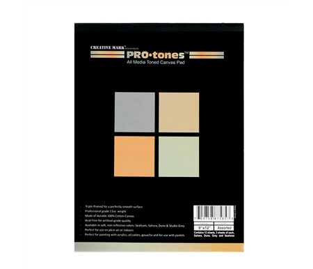 FREE* ProTones 9×12 Canvas Sampler Pad