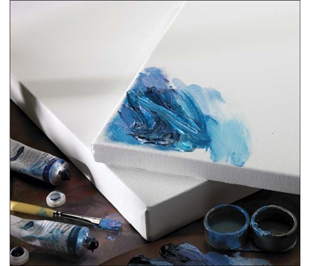 There's no sinking, ensuring that colour on Winsor & Newton canvas remains brilliant and true.