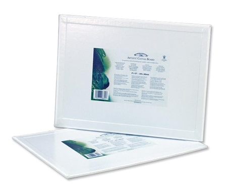 Winsor & Newton Artists\' Quality Canvas Boards are made from a substantial board and high quality cloth.